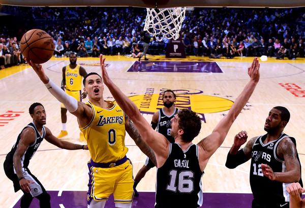 San+Antonio+Spurs+v+Los+Angeles+Lakers+7RYy93CZ3HNl