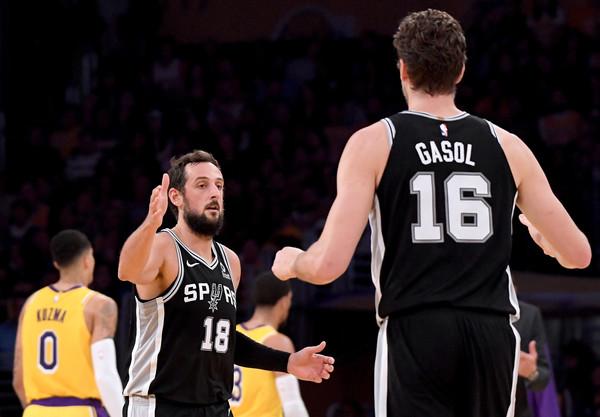 San+Antonio+Spurs+v+Los+Angeles+Lakers+I9nLSP62JGsl