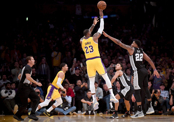 San+Antonio+Spurs+v+Los+Angeles+Lakers+xgbK9X18EjFl