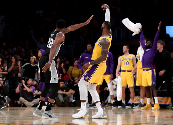 San+Antonio+Spurs+v+Los+Angeles+Lakers+YGt1whWT58Zl